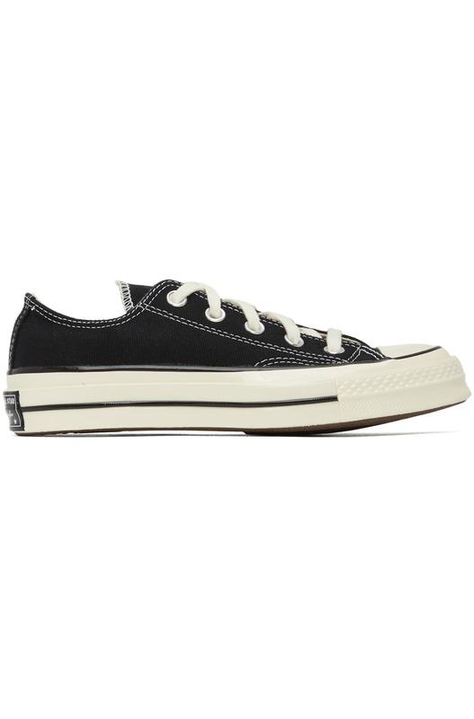 Черные кеды Chuck 70 Low Converse, фото