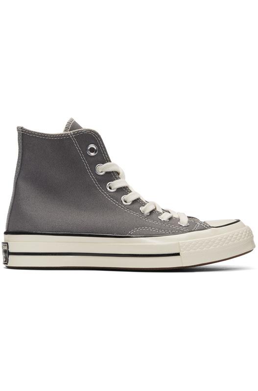 Высокие серые кеды Chuck 70 High Converse