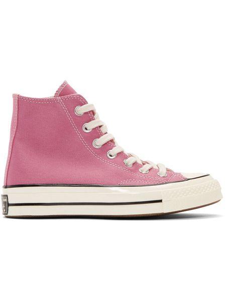 Розовые кеды Chuck 70 High Converse фото