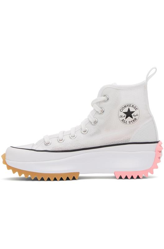 Белые кеды Run Star Hike High Converse
