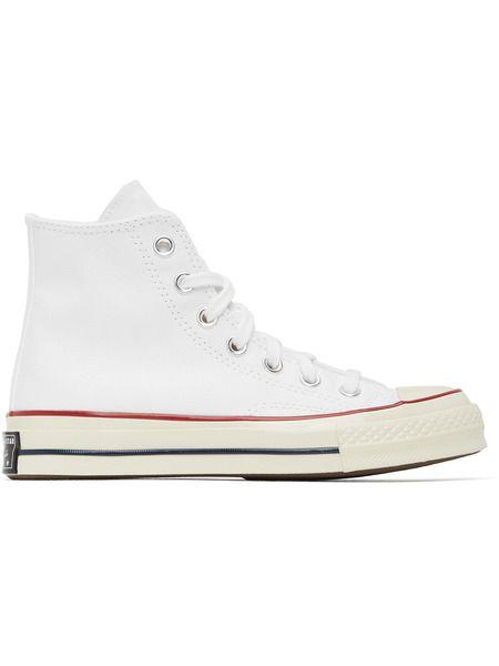 Белые кеды Chuck 70 High Converse фото