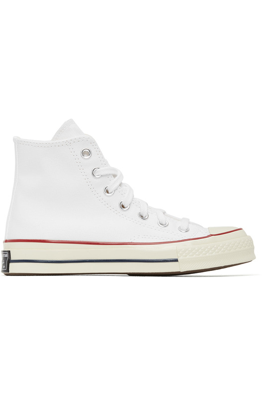 Белые кеды Chuck 70 High Converse, фото