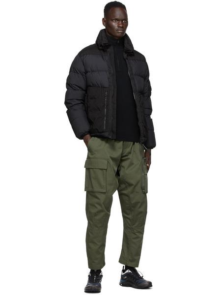 Черная куртка-пуховик на пуху C.P. Company, фото