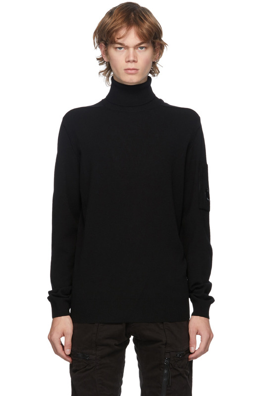 Мужской свитер Turtle Neck Merino Wool C.P. Company, фото