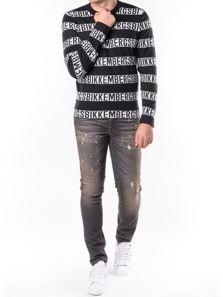 Серые джинсы Slim Fit Bikkembergs, фото