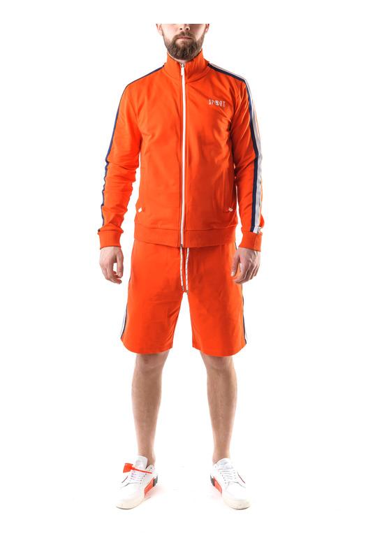 Оранжевая олимпийка с шортами Bikkembergs, фото