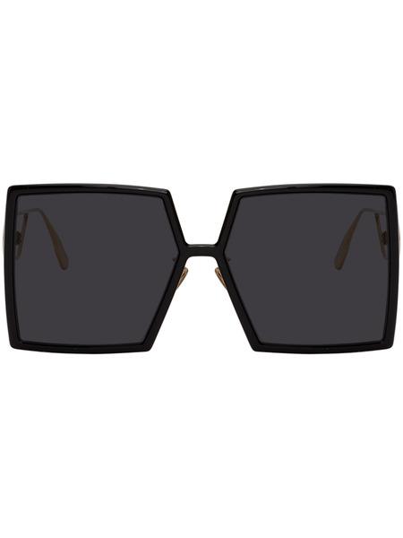 Черные солнцезащитные очки Dior 30Montaigne2 Dior, фото