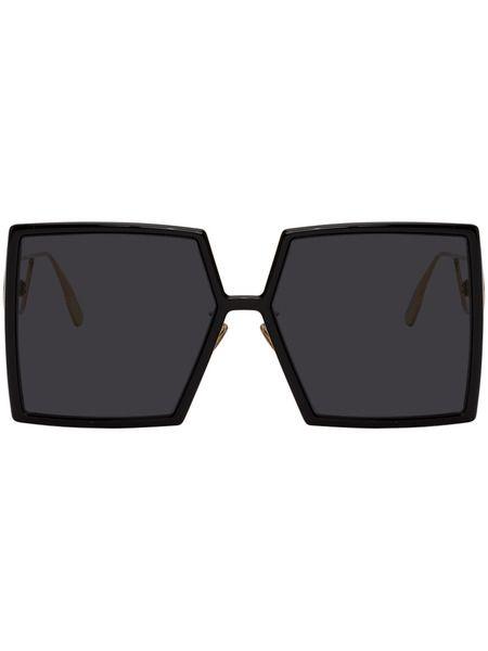 Черные солнцезащитные очки Dior 30Montaigne2