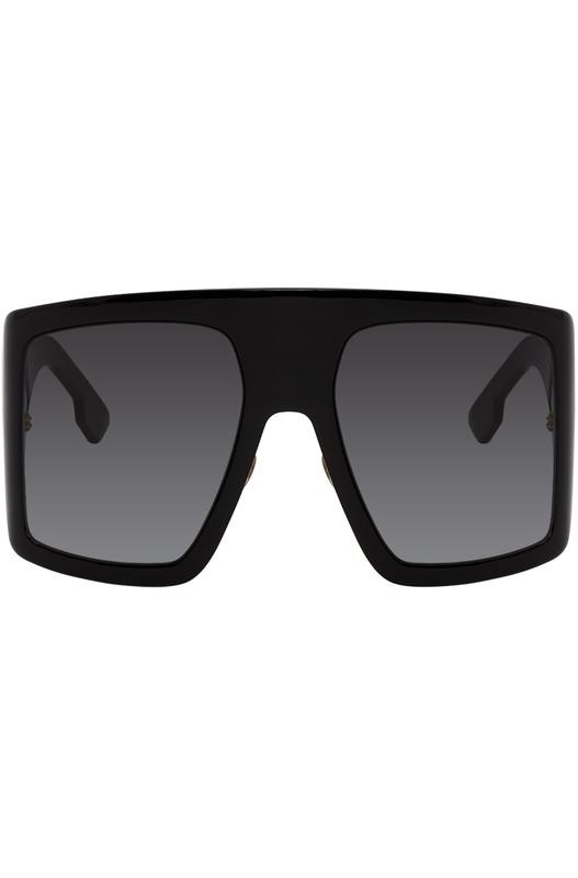 Черные солнцезащитные очки DiorSoLight1