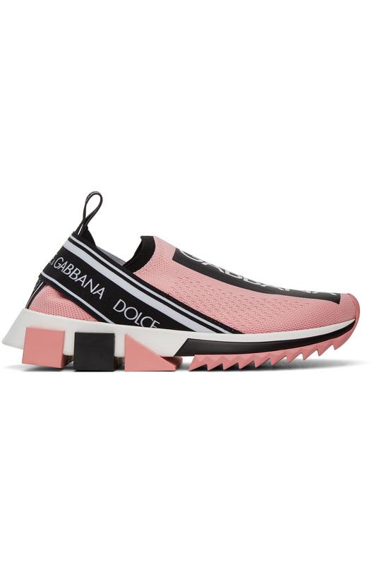 Розовые кроссовки Sorrento Dolce & Gabbana, фото