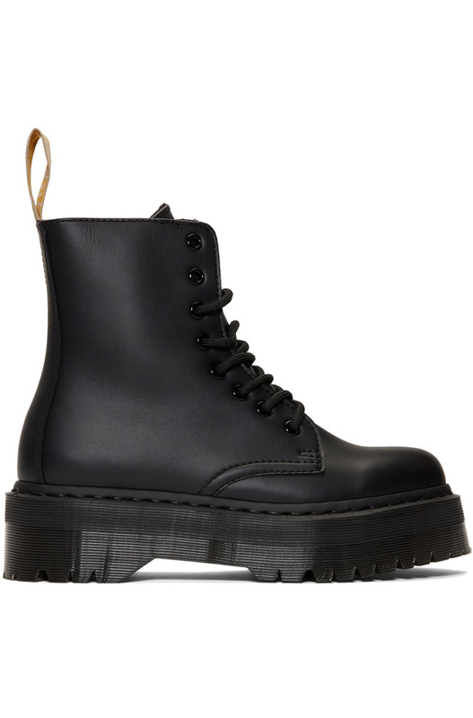Черные ботинки Dr.Martens Wagon Yi Mano