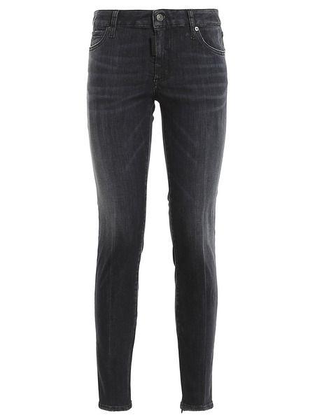 Женские черные джинсы Twiggy Dsquared2 фото