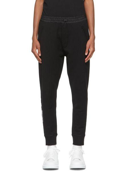 Чёрные спортивные брюки на кулиске Icon Dsquared2 фото