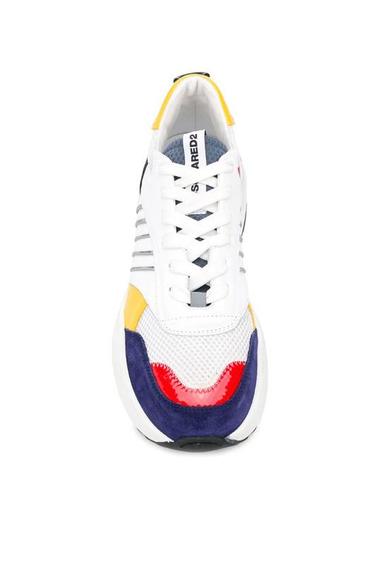 Кроссовки с цветными вставками Dsquared2