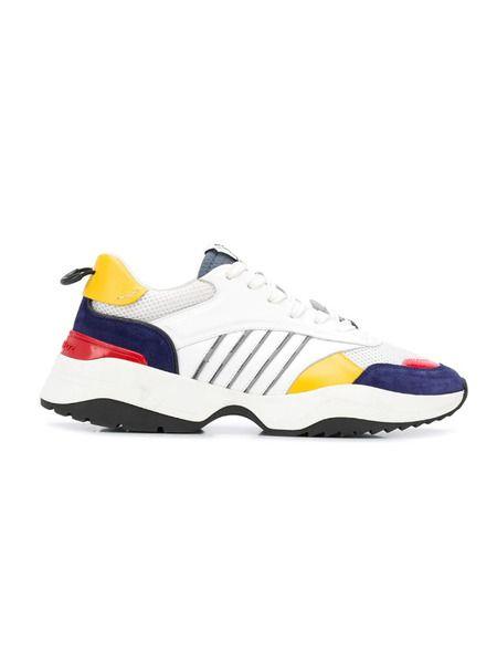Кроссовки с цветными вставками Dsquared2, фото