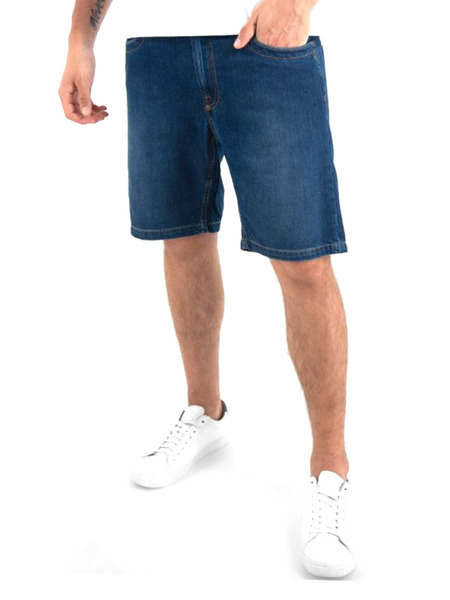 Джинсовые шорты Bikkembergs, фото
