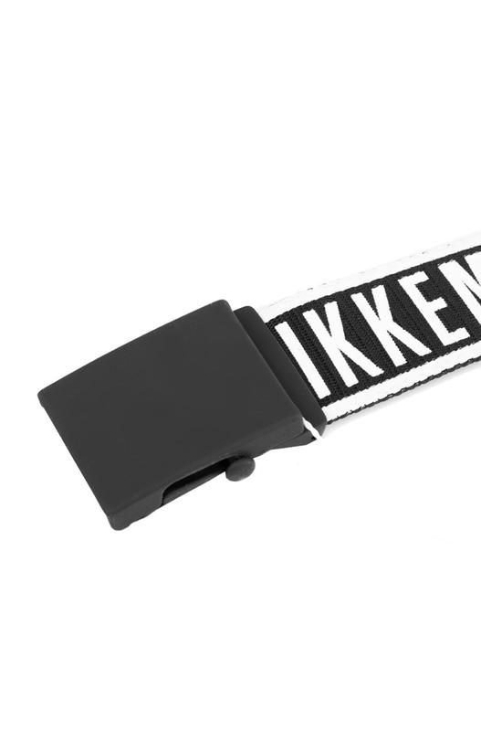 Тканевый мужской ремень с логотипом Bikkembergs