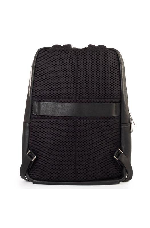 Рюкзак из черной кожи Bikkembergs, фото
