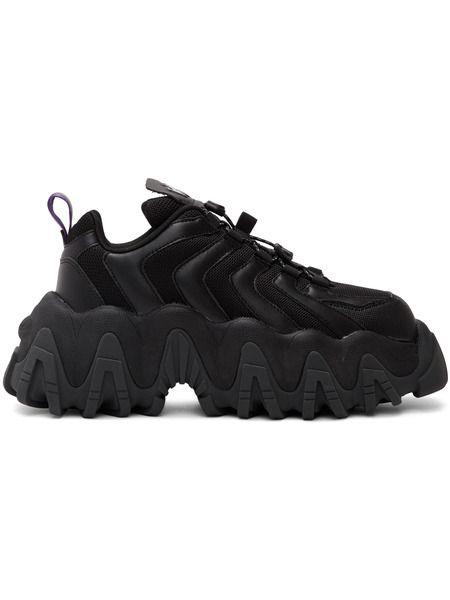 Черные кроссовки Halo Eytys фото