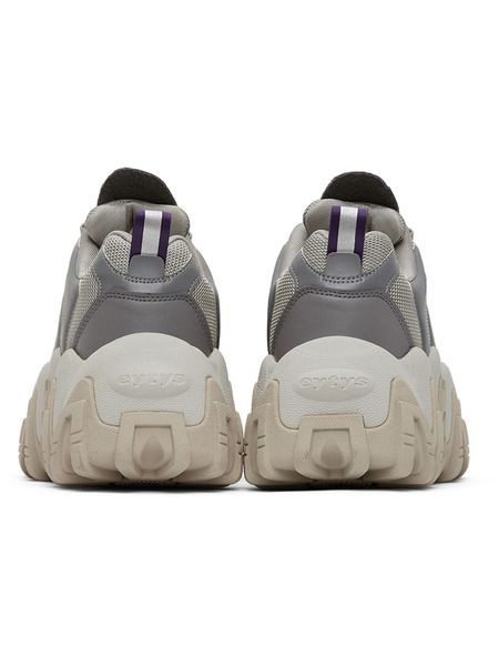 Серебристые кроссовки Halo