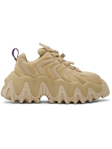 Светло-коричневые замшевые кроссовки Halo Eytys фото