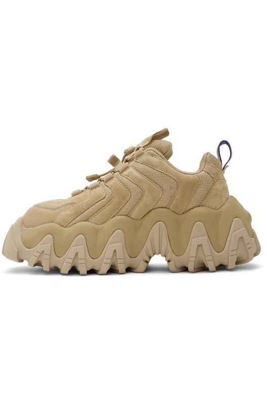Светло-коричневые замшевые кроссовки Halo Eytys, фото