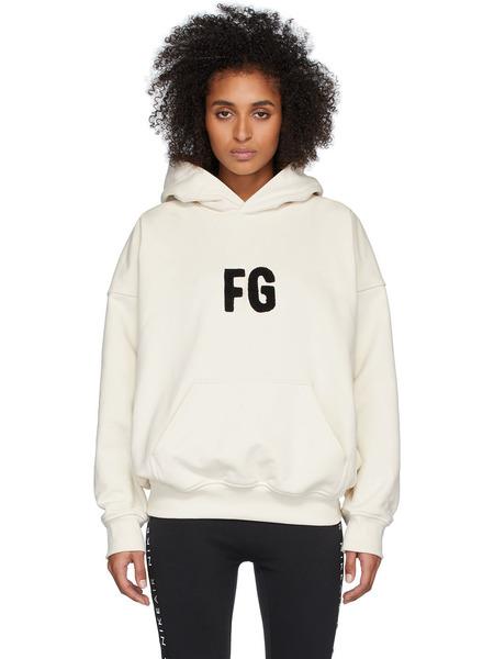Худи с вышивкой FG Fear of God фото