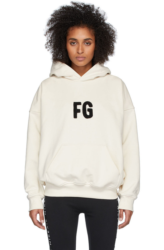 Худи с вышивкой FG Fear of God, фото