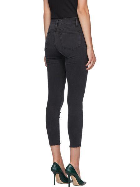 Черные короткие джинсы Le High Skinny Crop