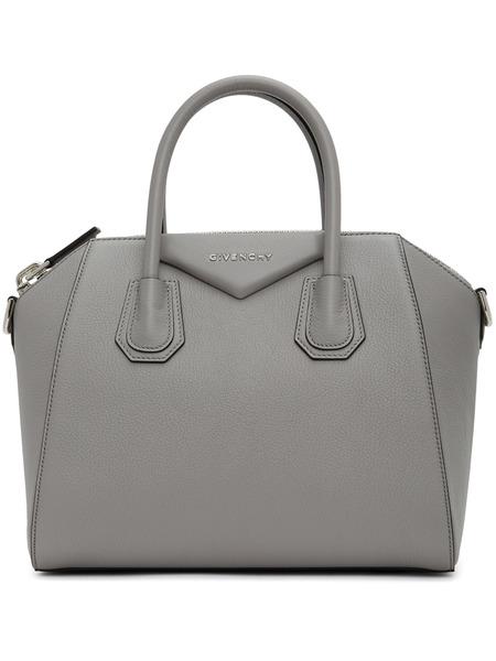 Серая маленькая сумка Givenchy Antigona Givenchy, фото