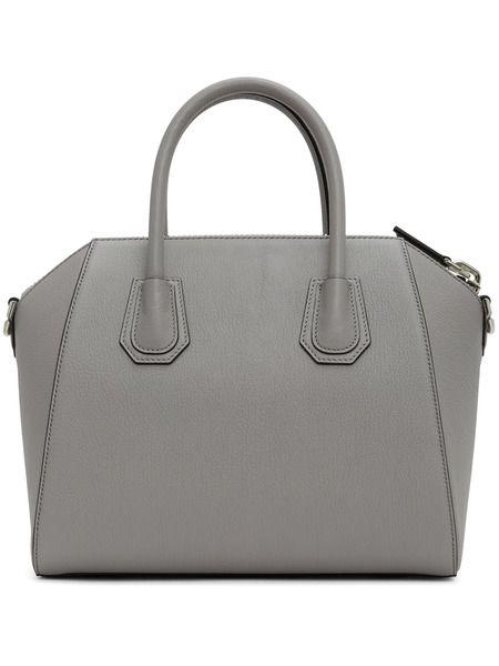 Серая маленькая сумка Givenchy Antigona