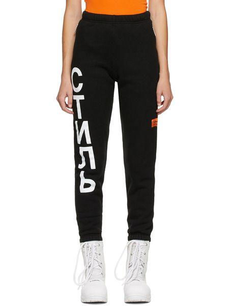 Черные спортивные штаны 'СТИЛЬ' Heron Preston фото