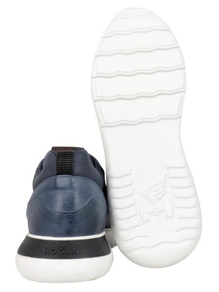 Синие кожаные кроссовки Interactive³ Hogan, фото