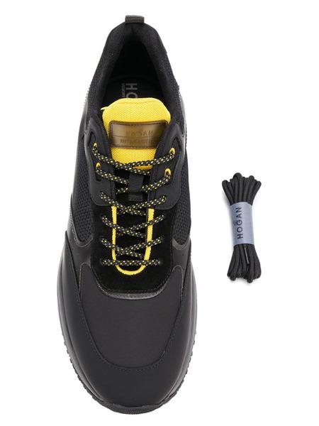 Черные кроссовки Interaction Hogan, фото