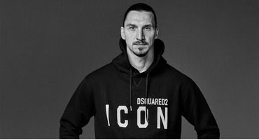 Коллекция Icon Ibrahimovic - Златан Ибрагимович стал дизайнером в Dsquared2
