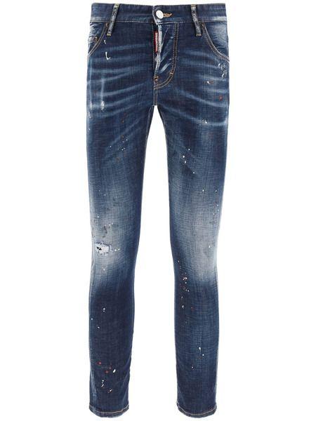 Джинсы-скинни Twist Fit Jeans Dsquared2 фото