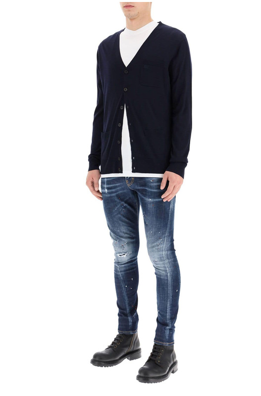 Джинсы-скинни Twist Fit Jeans Dsquared2, фото
