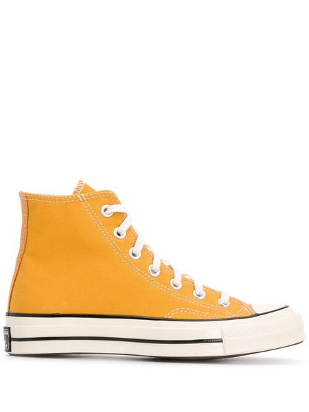 Желтые высокие кеды Chuck Taylor 70 High Top Sunflower Converse фото