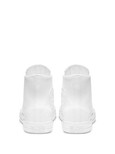 Кеды Chuck Taylor All Star Leather White Mono