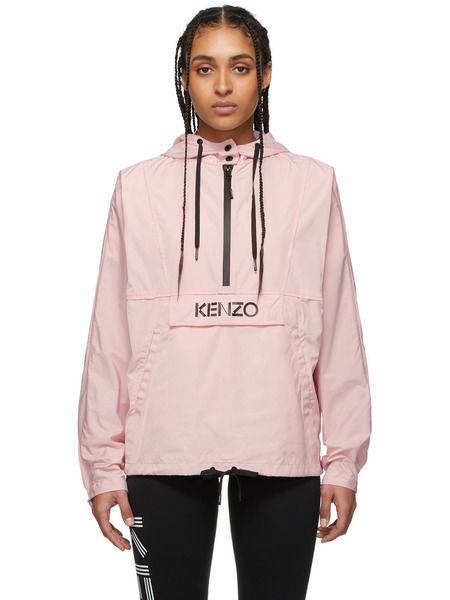 Розовый анорак с логотипом Kenzo Kenzo фото