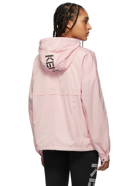 Розовый анорак с логотипом Kenzo Kenzo, фото