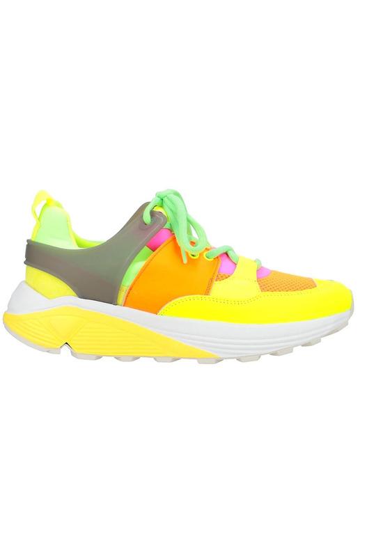 Кислотные кроссовки Vibram Dondup, фото