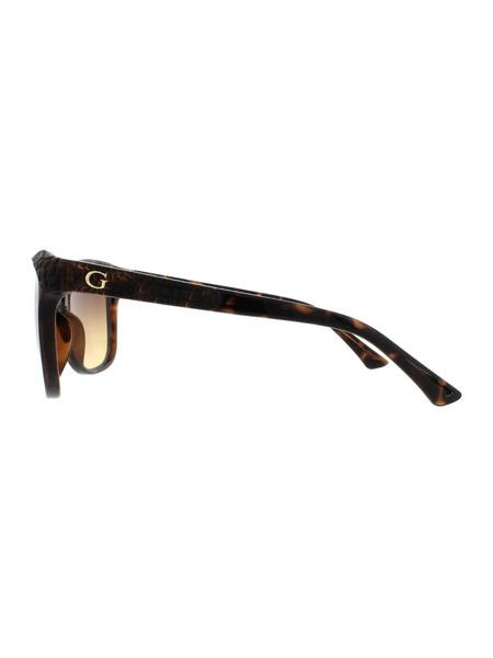 Коричневые солнцезащитные очки GU7401 52F