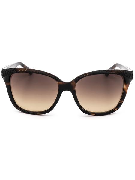 Коричневые солнцезащитные очки GU7401 52F Guess, фото