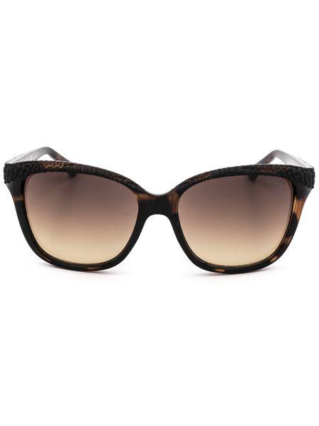 Коричневые солнцезащитные очки GU7401 52F Guess фото