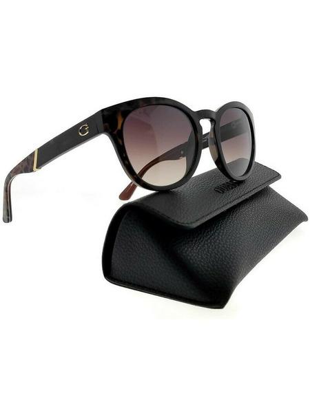 Коричневые солнцезащитные очки GU7473 52F Guess, фото