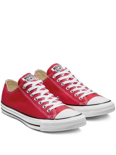 Короткие кеды All Star Ox Red M9696C Converse, фото