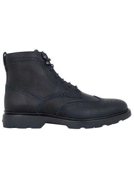 Кожаные ботинки челси Hogan фото