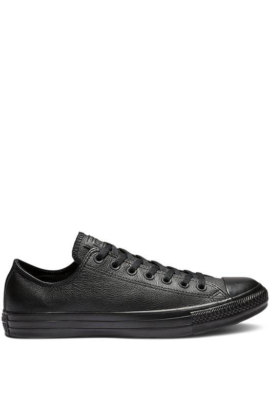 Кожаные кеды Chuck Taylor All Star Mono Leather Black