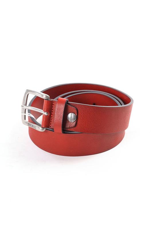 Красный ремень Bikkembergs, фото